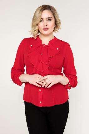 Блуза красная Галина
