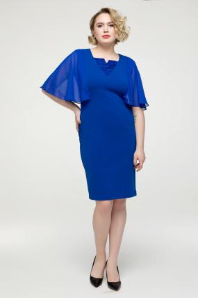 Платье электрик Яна 2146