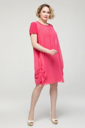 Платье коралловое Бони 2150