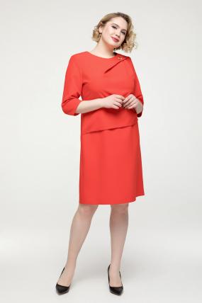 Платье красное Бриллиант