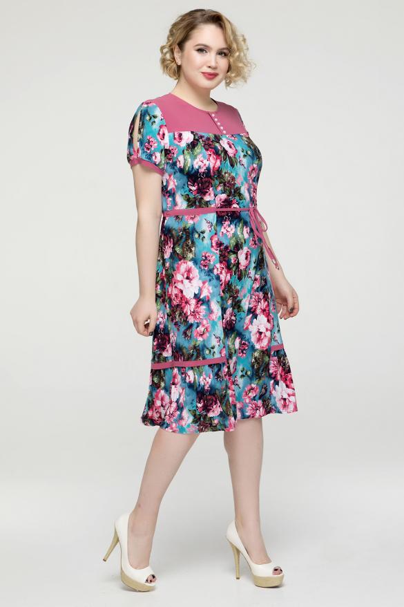 Сукня рожева Віра