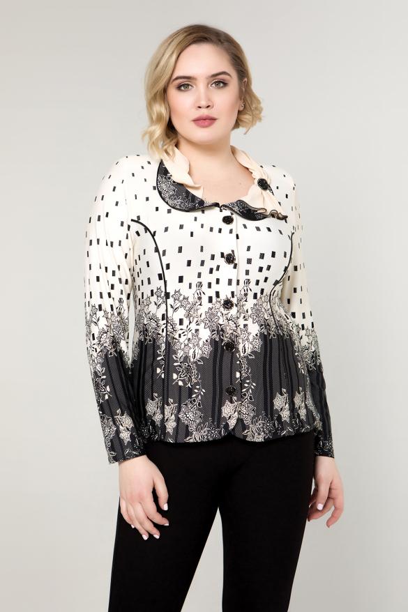 Блуза бежевая Лорен