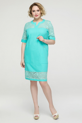 Платье мята Татьянка