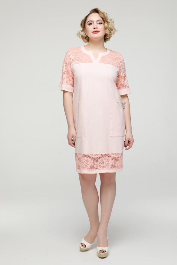 Сукня пудра Тетянка