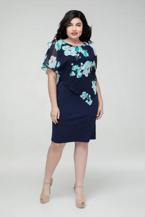 Платье бирюзовое Жасмин 2224