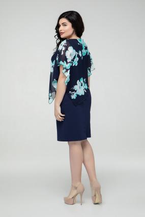 Платье бирюзовое Жасмин 2225