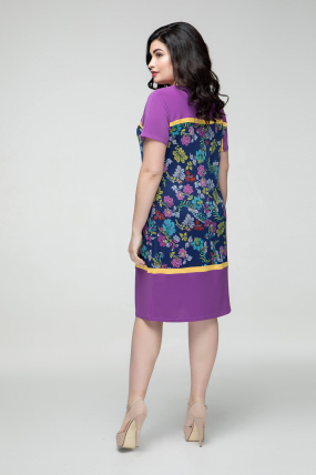 Сукня бузкова Ельза 2251