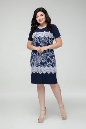 Платье синее Эльза