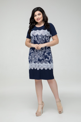 Сукня синя Ельза 2254