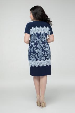 Сукня синя Ельза 2255