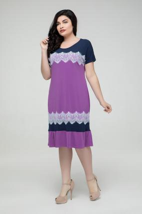 162e9371766 Платье сиреневое Аида