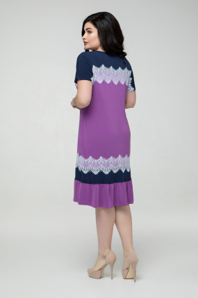 Сукня бузкова Аіда 2259