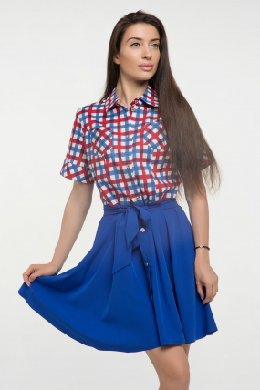Платье ультрамарин Версаль 2260