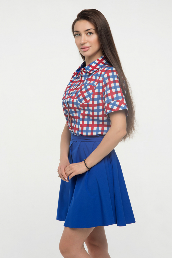 Платье ультрамарин Версаль