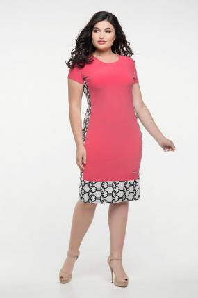 Сукня малинова Анжела 2279