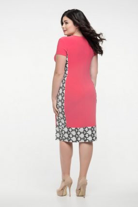 Сукня малинова Анжела 2280