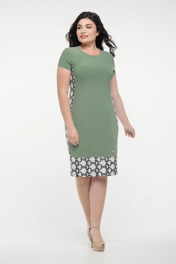 Сукня оливкова Анжела