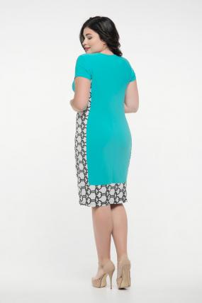 Платье бирюзовое Анжела 2288