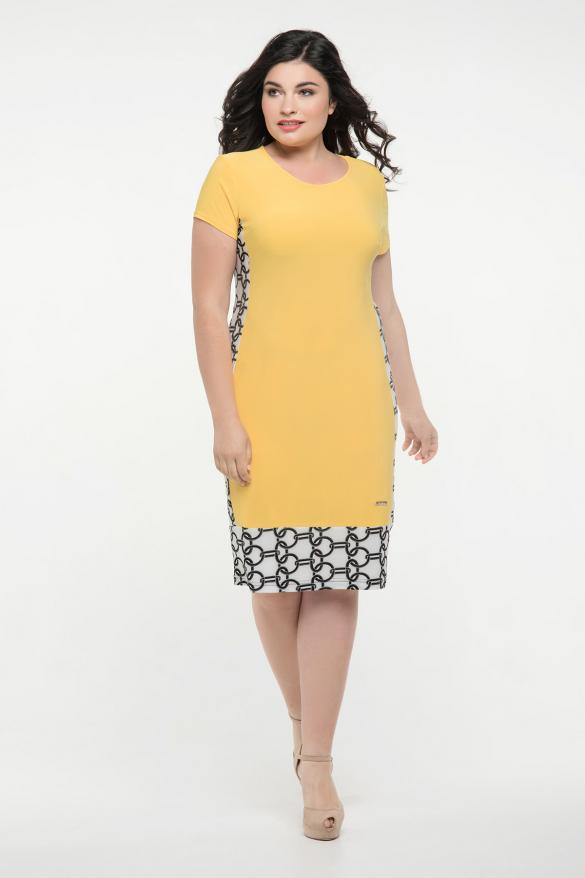 Платье жёлтое Анжела