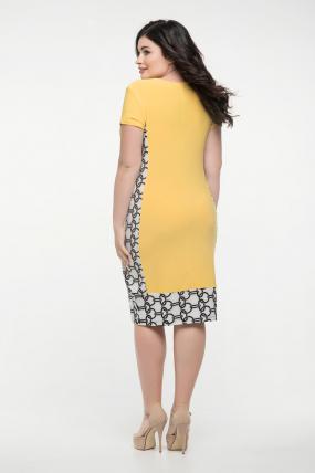 Платье жёлтое Анжела 2290