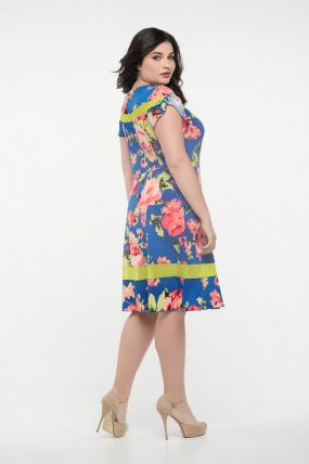 Платье синее Морика 2301