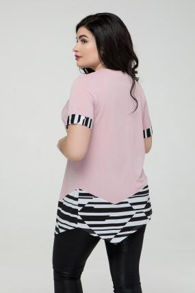 Туника светло-розовая Злата 2305