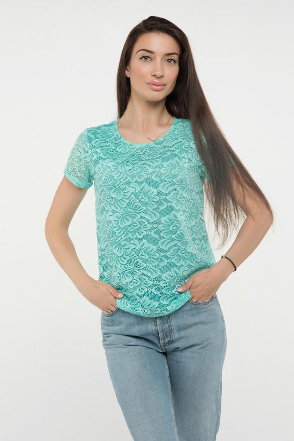 Блуза мята Богдана