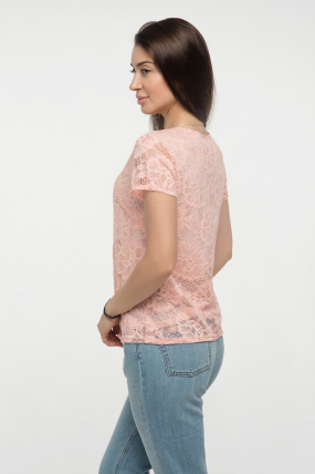 Блуза персик Богдана 2331