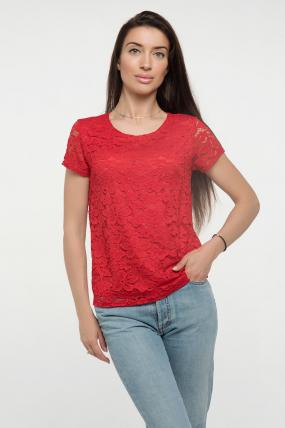 Блузка красная Богдана 2332