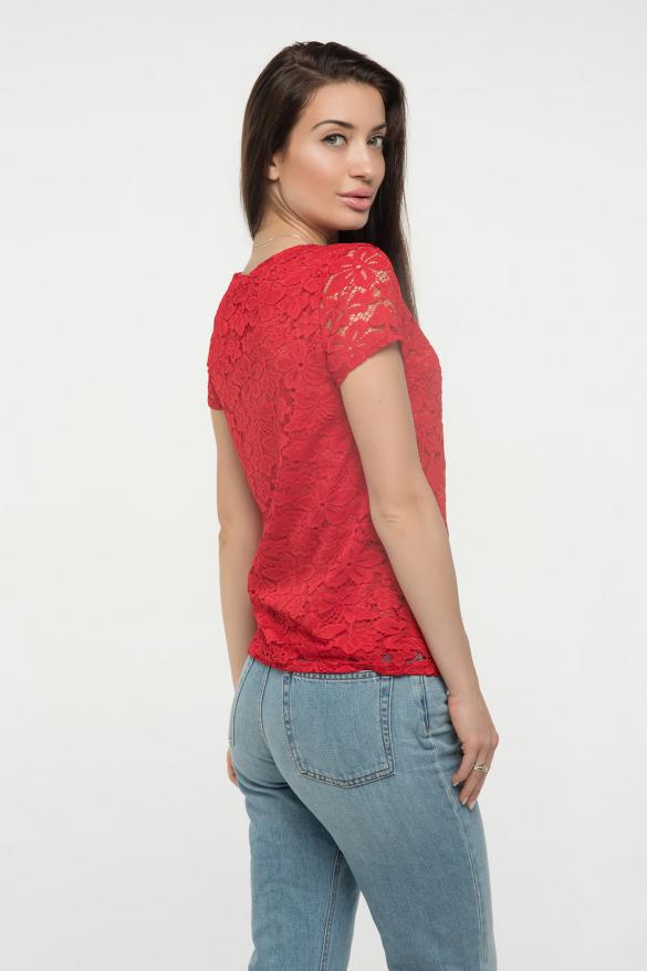 Блузка красная Богдана