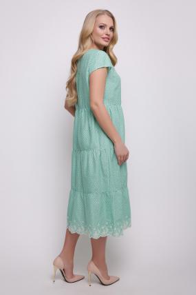 Сукня зелена Аріель 2344
