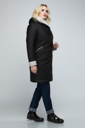 Куртка чёрная В 111 2403