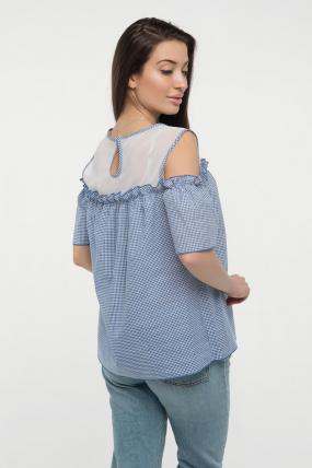 Блуза синяя Ася 2405