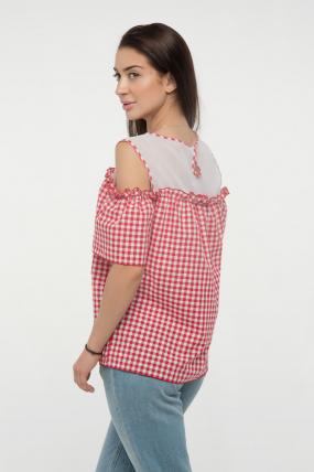 Блуза червона Ася 2407