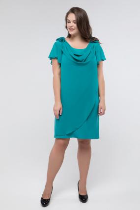 Платье изумрудное Валенсия