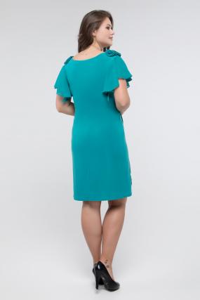 Сукня смарагдова Валенсія 2427