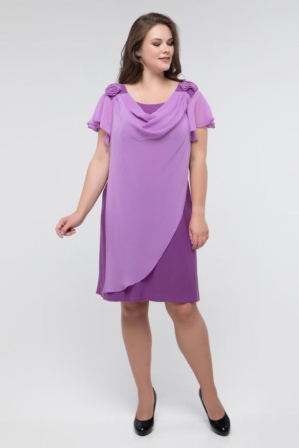 Платье сиреневое Валенсия