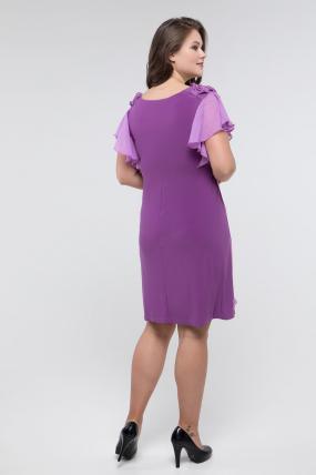Сукня бузкова Валенсія 2429
