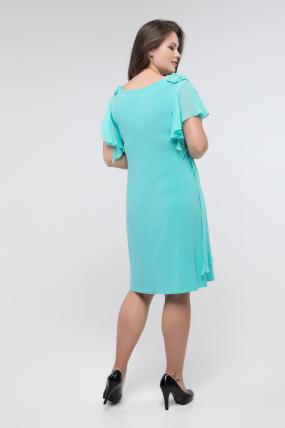 Платье бирюзовое Валенсия 2438