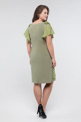 Платье оливка Валенсия 2441