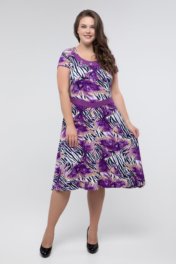 Сукня фіолетова Зоя
