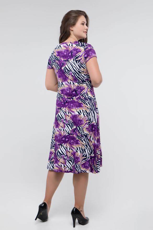 Платье фиолетовое Зоя