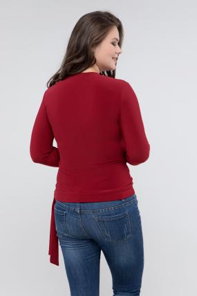 Блуза марсал Клео 2449