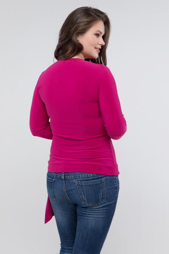 Блуза фуксия Клео