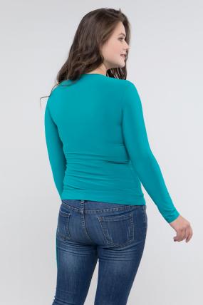 Блуза бирюзовый Клео 2453