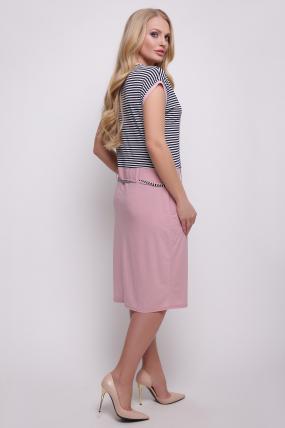 Платье  розовое Леди 2457