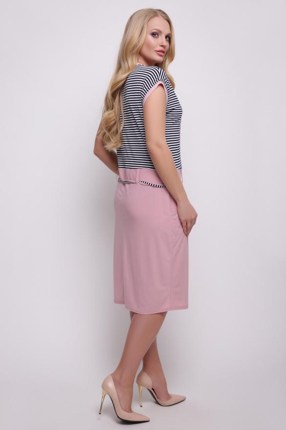 Платье  розовое Леди