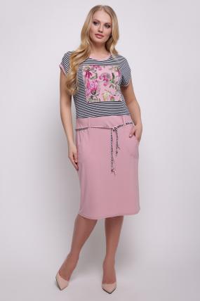 Сукня рожева Леді 2458
