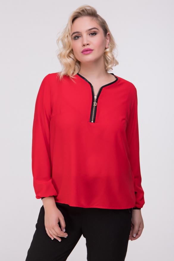 Блуза красная Инга