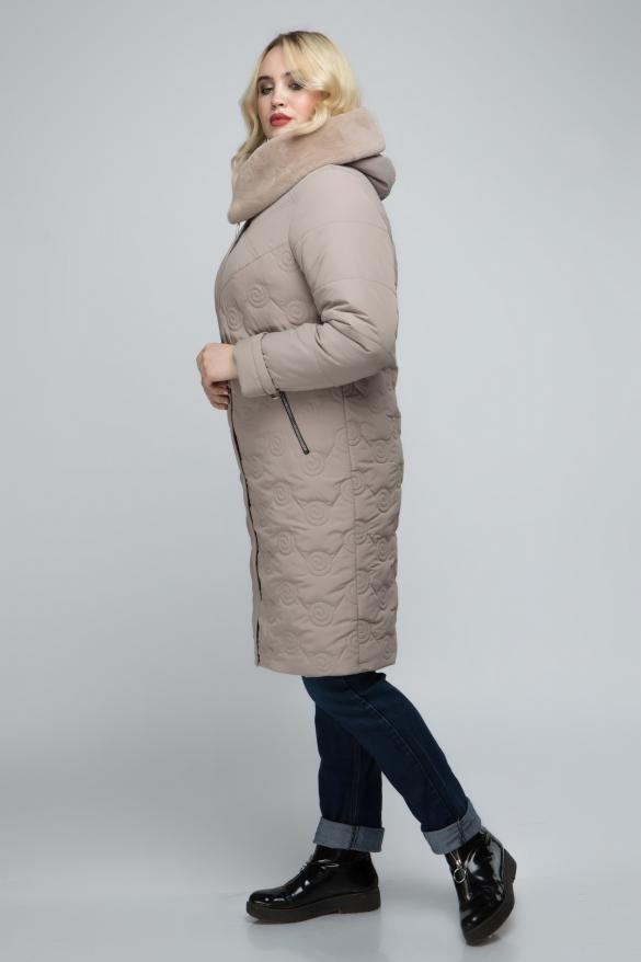 Куртка бежевый Пион